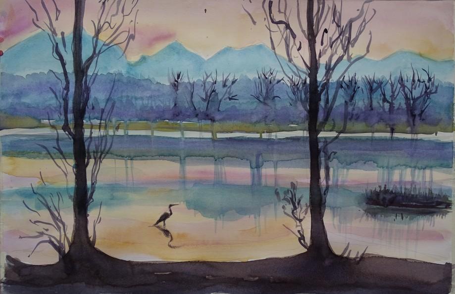 Am-Inn-Aquarell-Malerei-Nadia-Baumgart