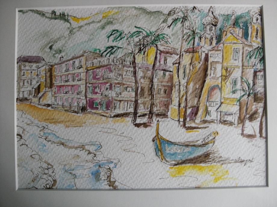 Laigueglia arte spiaggia Provincia di Savona