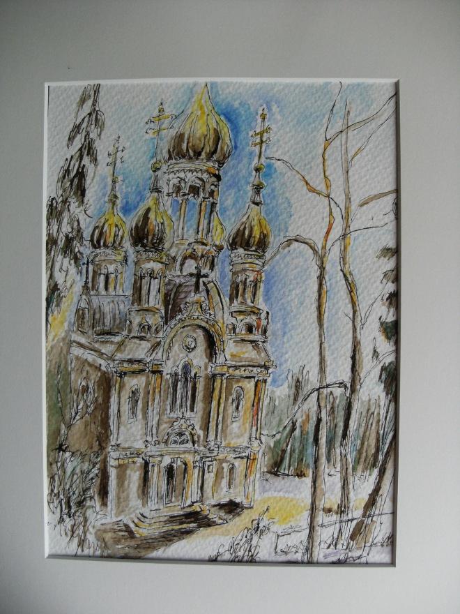 Russische-Kapelle-5 Wiesbaden Kunst