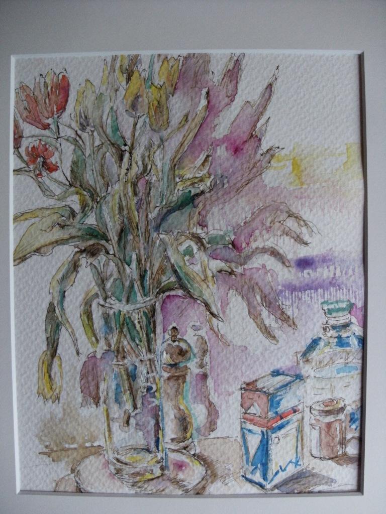 Tulpen-Kunst-Nadia-Baumgart