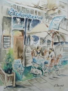 Weihenstephaner-Bavarian-Restaurant-Watercolor-Nadia-Baumgart-3