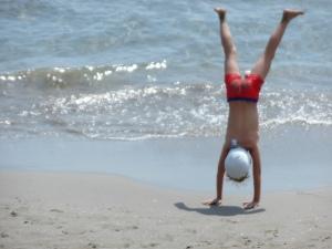 Bambino-spiaggia