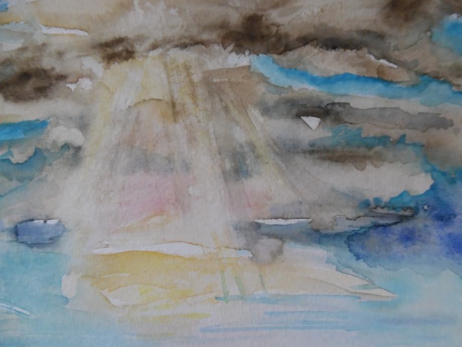 Mare-Meer-Aquarell-Nadia-Baumgart-2