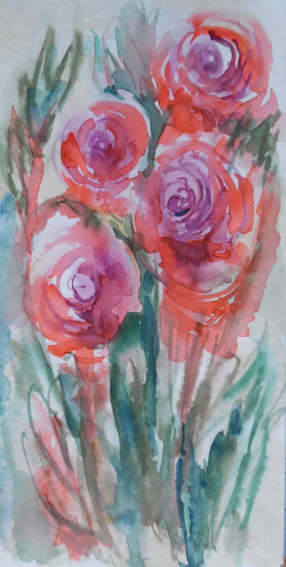 Flowers-Watercolour-Nadia-Baumgart