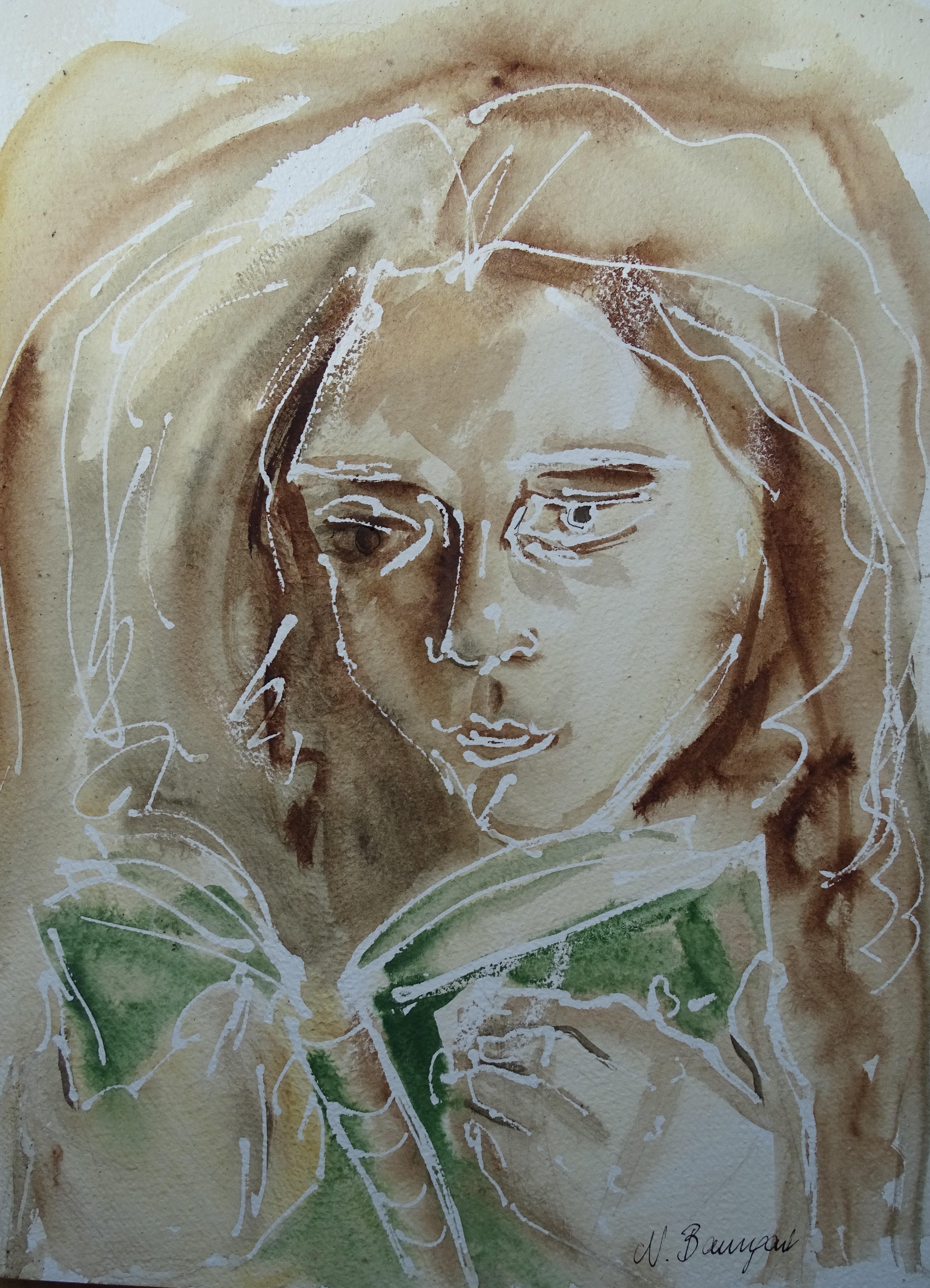 Lesen-Aquarell-Watercolour-Nadia-Nashed-Baumgart (2)