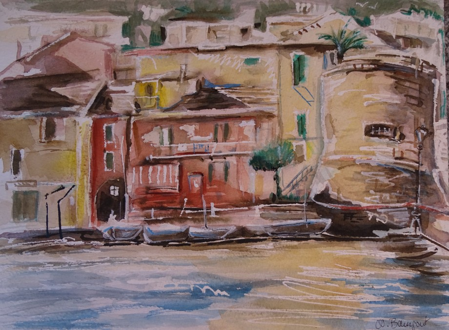 Laigueglia-Aquarell-watercolour-nadia-Baumgart-2