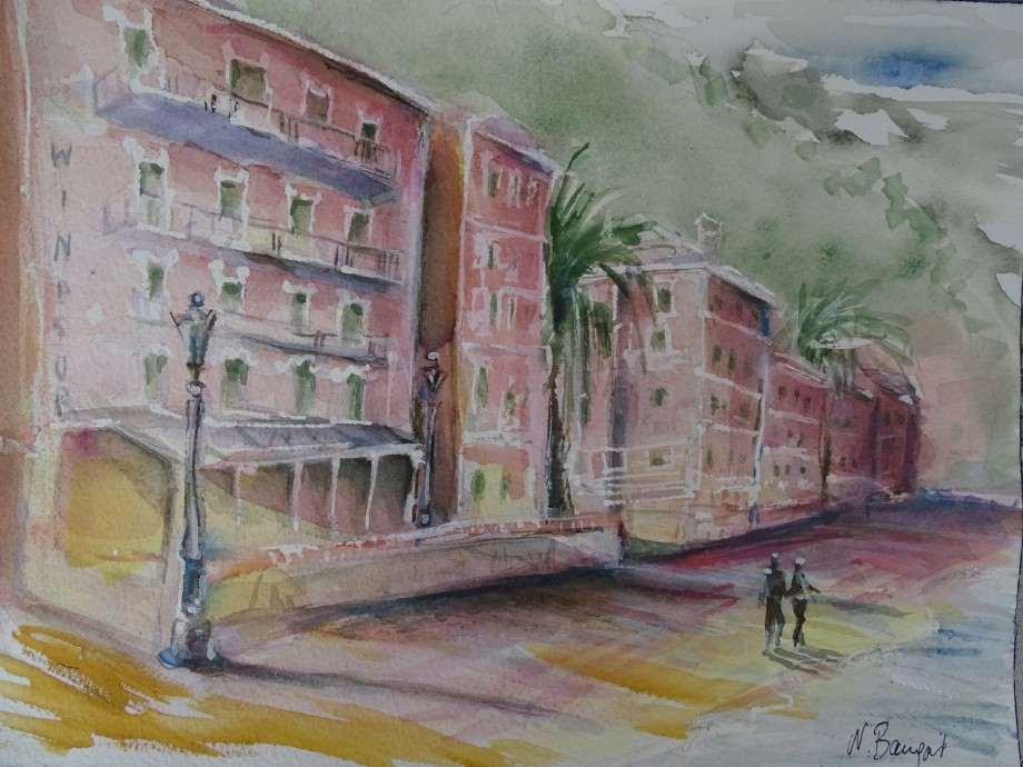 Laigueglia-Aquarell-watercolour-nadia-Baumgart