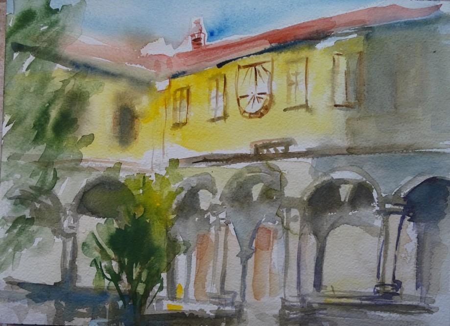 Convento-San-Domenico-Taggia-Acquerello-Nadia-Baumgart