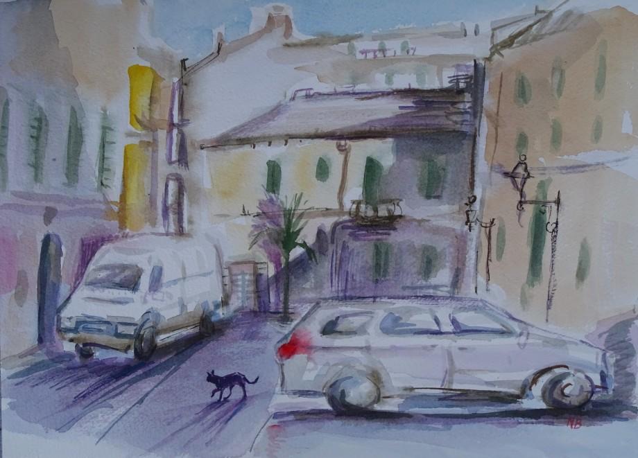 Katze-überquert-Strasse-Nadia-Baumgart