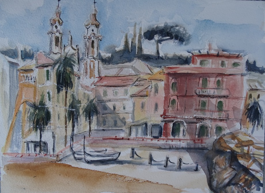 Laigueglia-Aquarell-watercolour-nadia-Baumgart-3