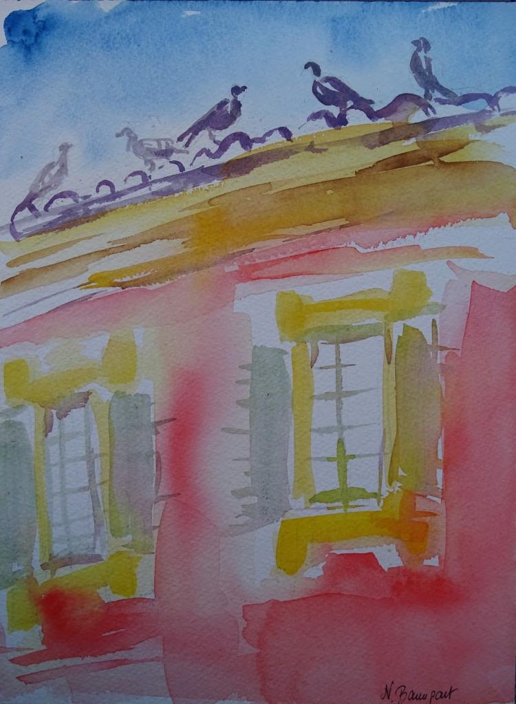 Musée-Matisse-Nice-Aquarelle-Watercolour-Nadia-Baumgart