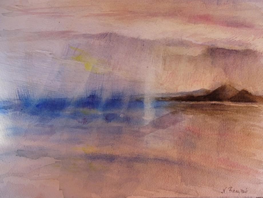Seascape-Laigueglia-Aquarell-Watercolour-Nadia-Baumgart-2