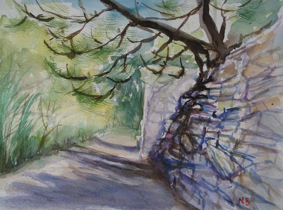 Sentiero-Ligure-Acquerello-Nadia-Baumgart