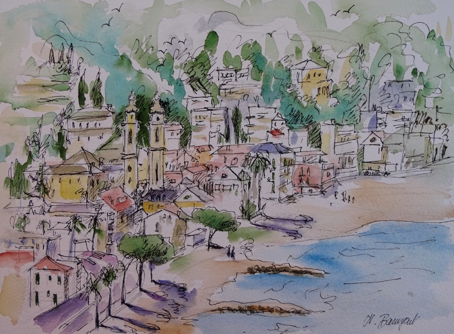 Laigueglia-Aquarell-watercolour-Nadia-Baumgart-4