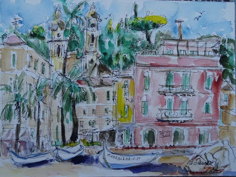 Laigueglia-Molo-Aquarell-watercolour-Nadia-Baumgart-5