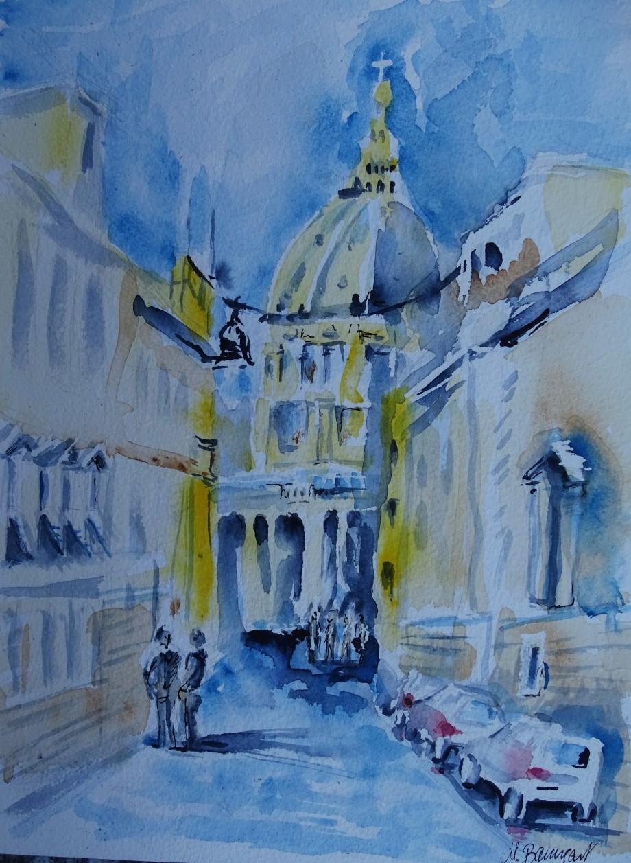 Roma-Aquarell-Nadia-Baumgart