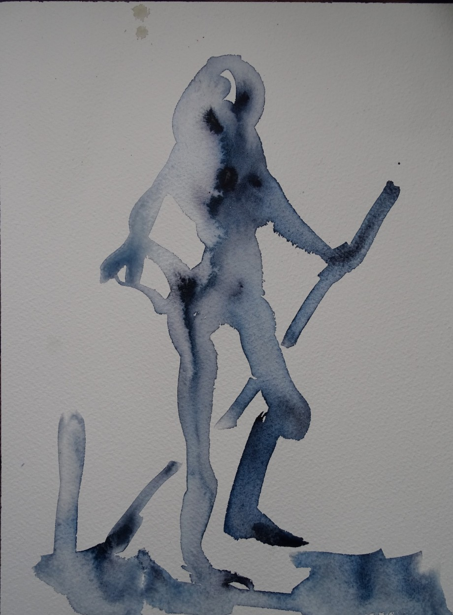 woman-aquarell-watercolour-Nadia-Baumgart