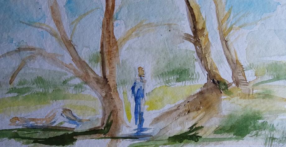 Summer-in-the-city-Watercolour-Nadia-Baumgart-1