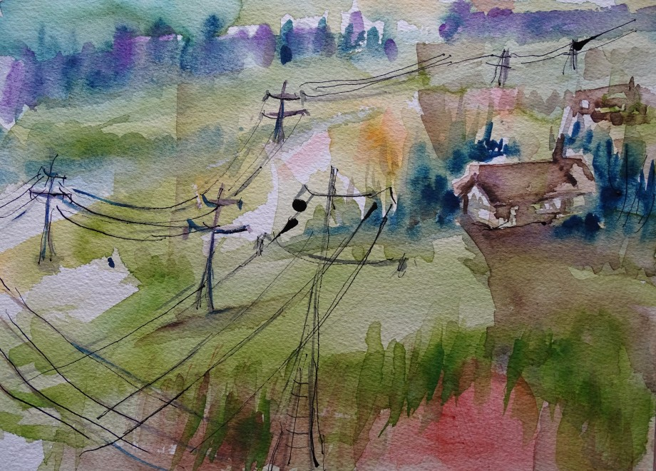 2-Bad-Birnbach-Aquarell-Bavaria-Watercolour-Nadia-Baumgart