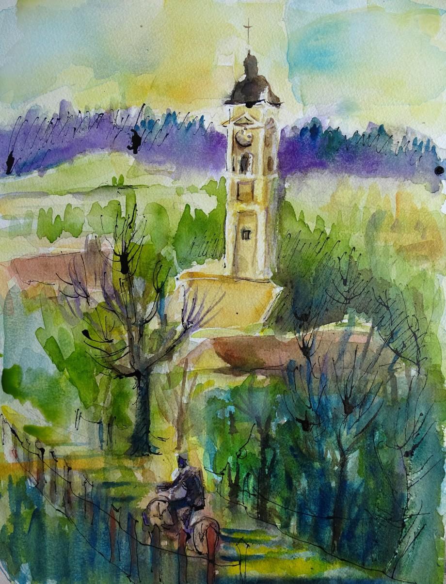 3-Bad-Birnbach-Aquarell-Bavaria-Watercolour-Nadia-Baumgart