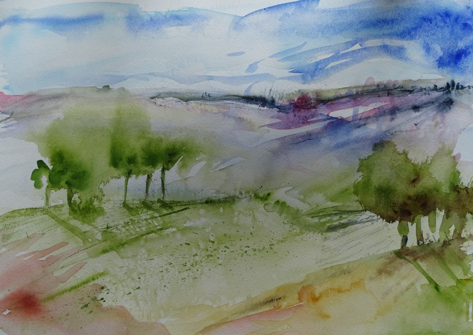 Landscape-Aquarell-Nadia-Baumgart-5