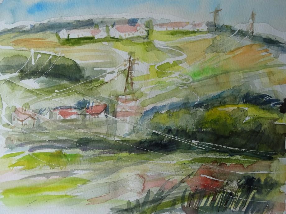 Paysage-bavarois-aquarelle-Nadia-Baumgart-2