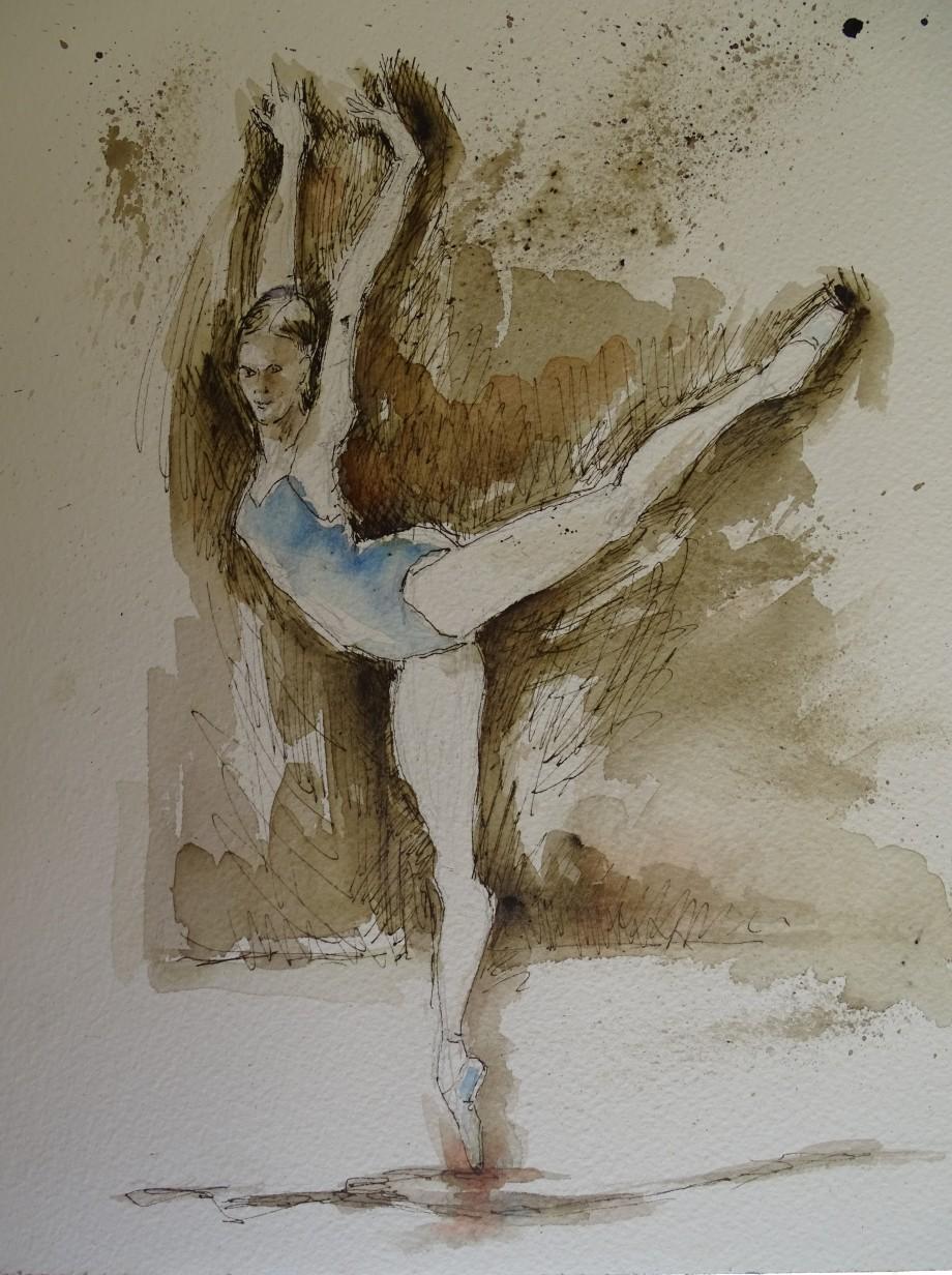 Dance-Tuschezeichnung-Nadia-Baumgart