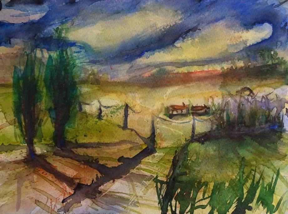gewitterstimmung-aquarell-nadia-baumgart