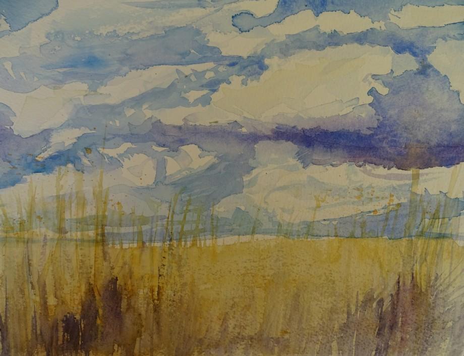 himmel-kornfeld-aquarell-nadia-baumgart
