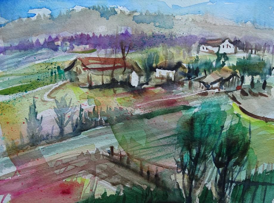 Landscape-Aquarell-Nadia-Baumgart-6
