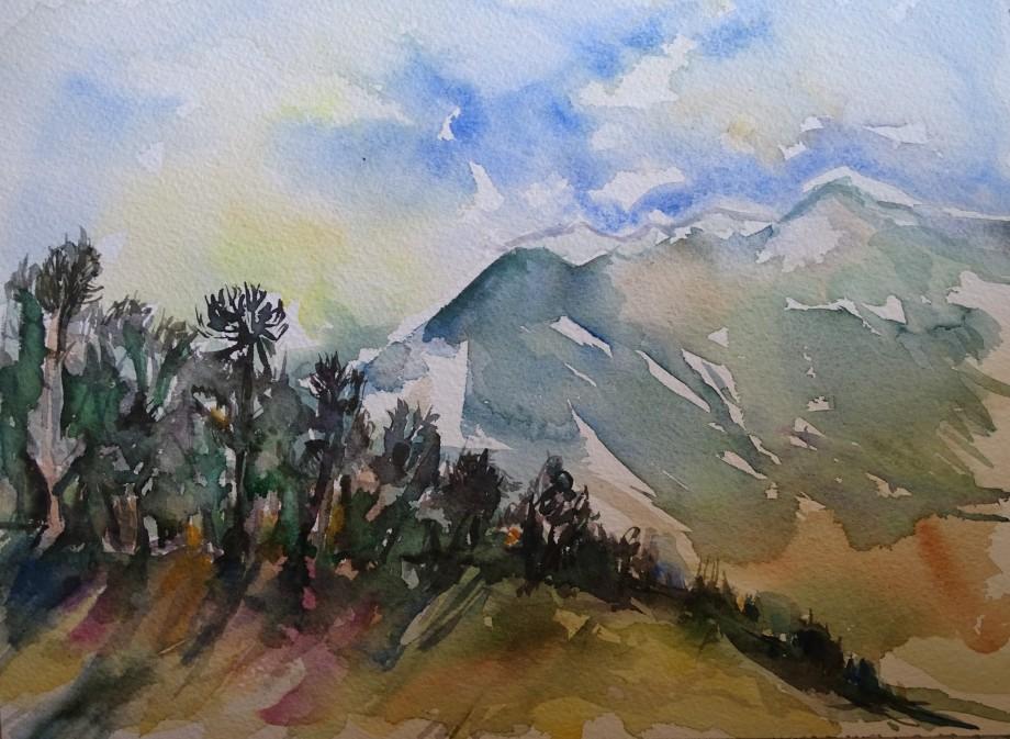 ligurische-alpen-ligurian-alps-aquarell-nadia-baumgart