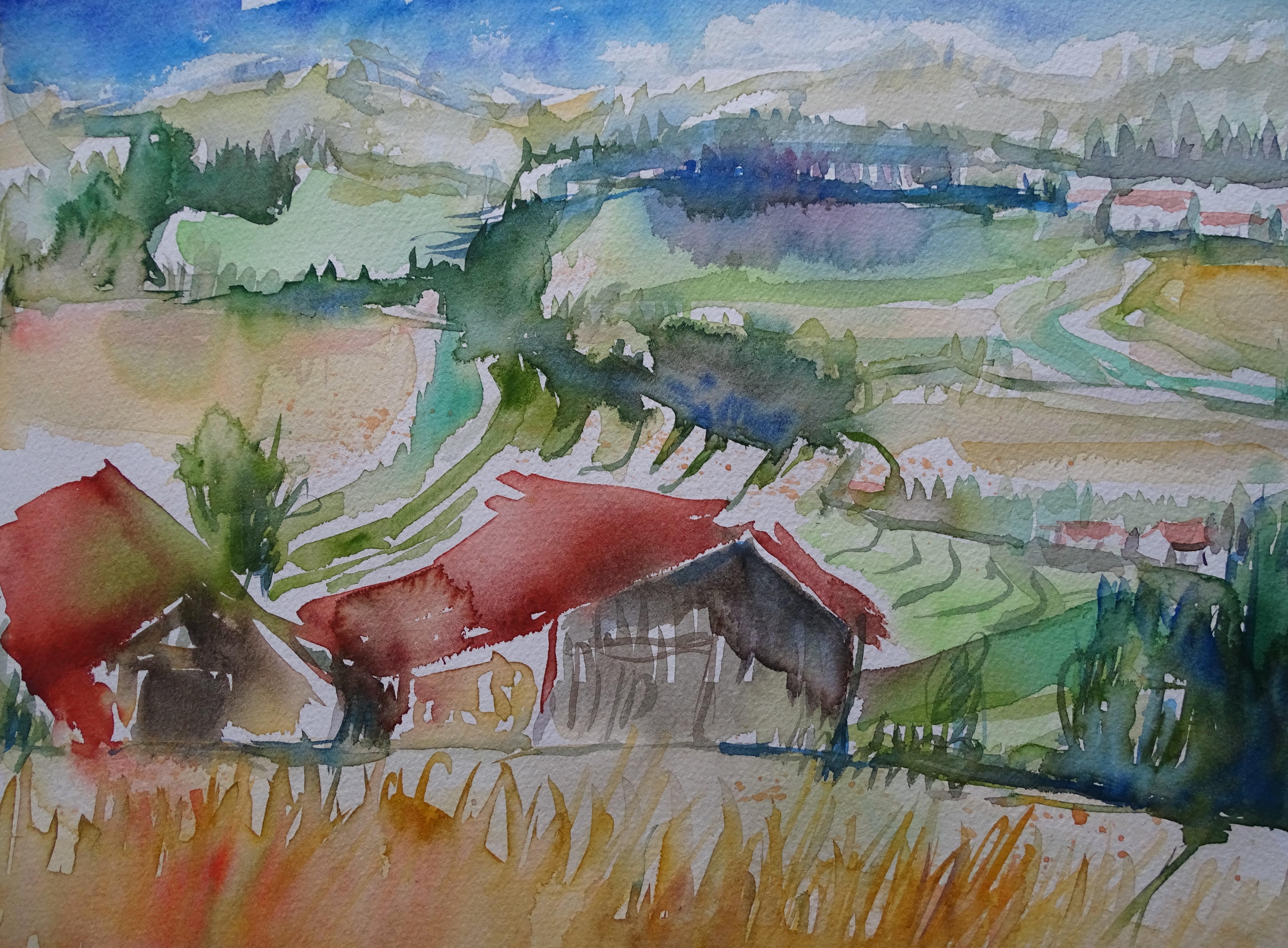 niederbayern-rottal-inn-aquarell-nadia-baumgart