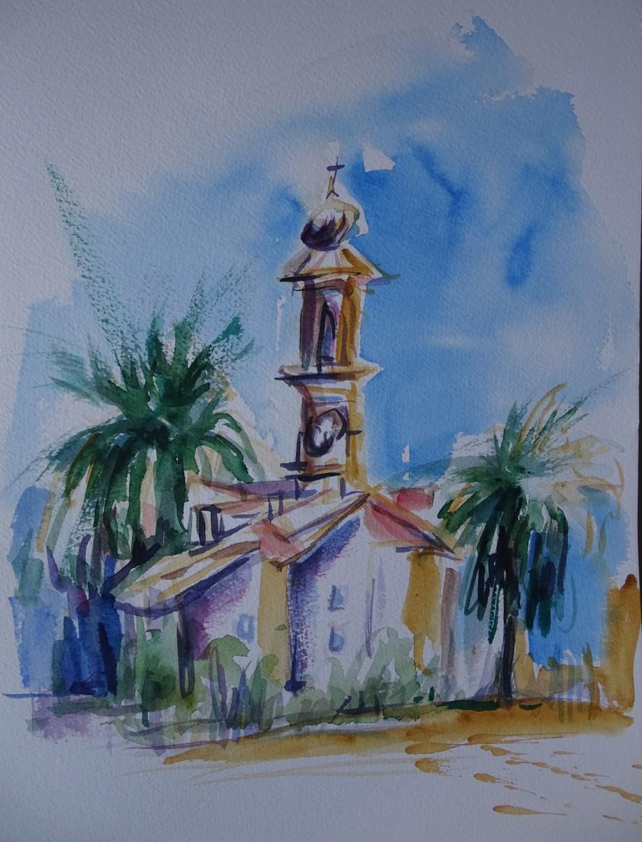 italien-riviera-watercolour-nadia-baumgart