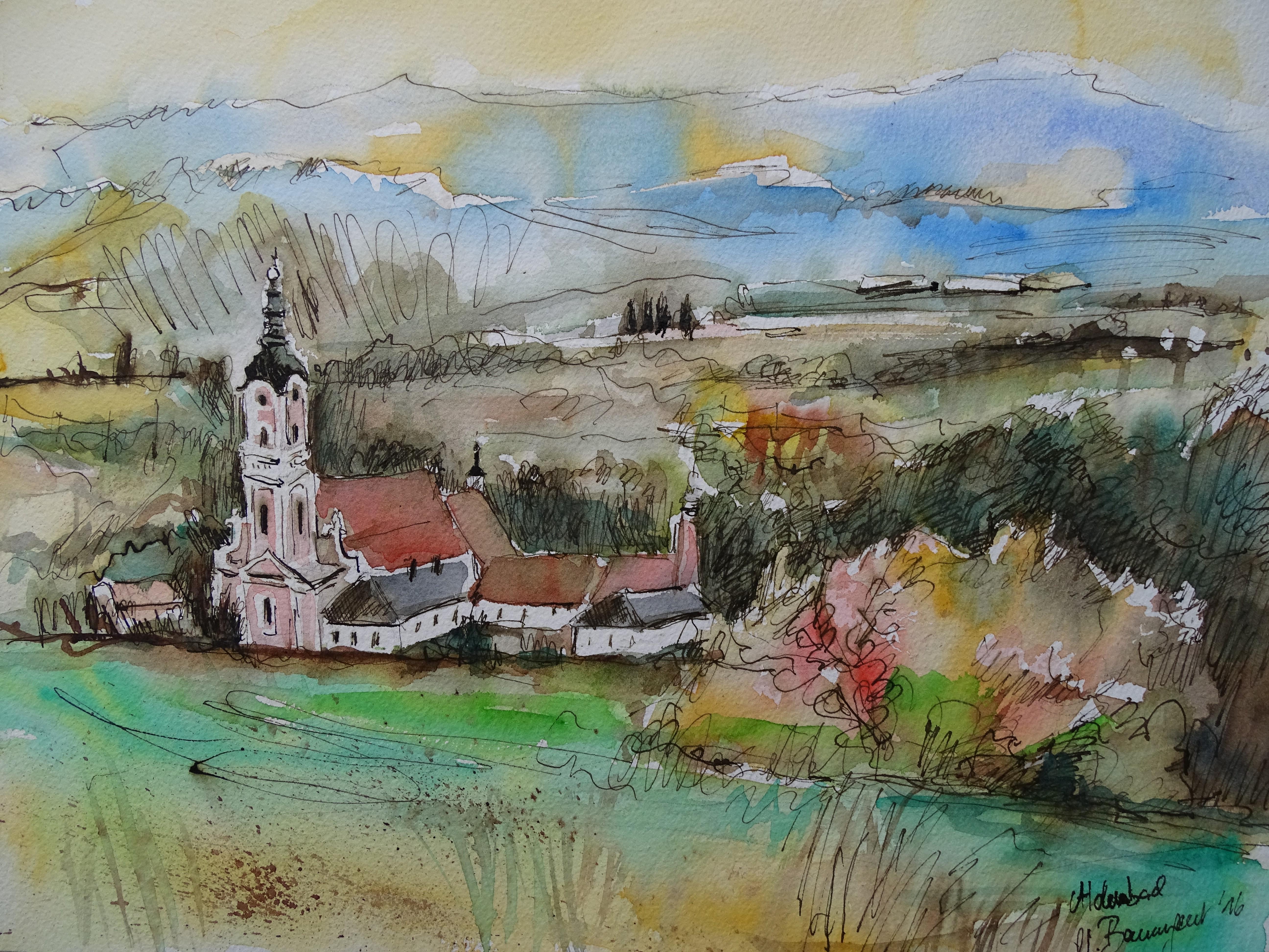 kloster-aldersbach-aquarell-nadia-baumgart