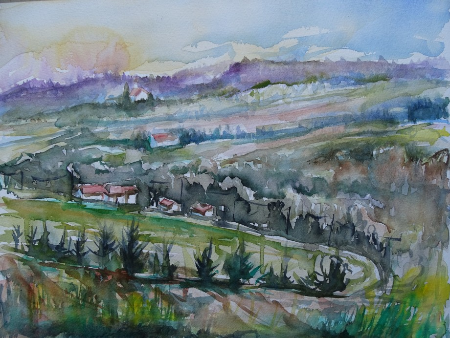 niederbayern-bad-birnbach-aquarell-nadia-baumgart