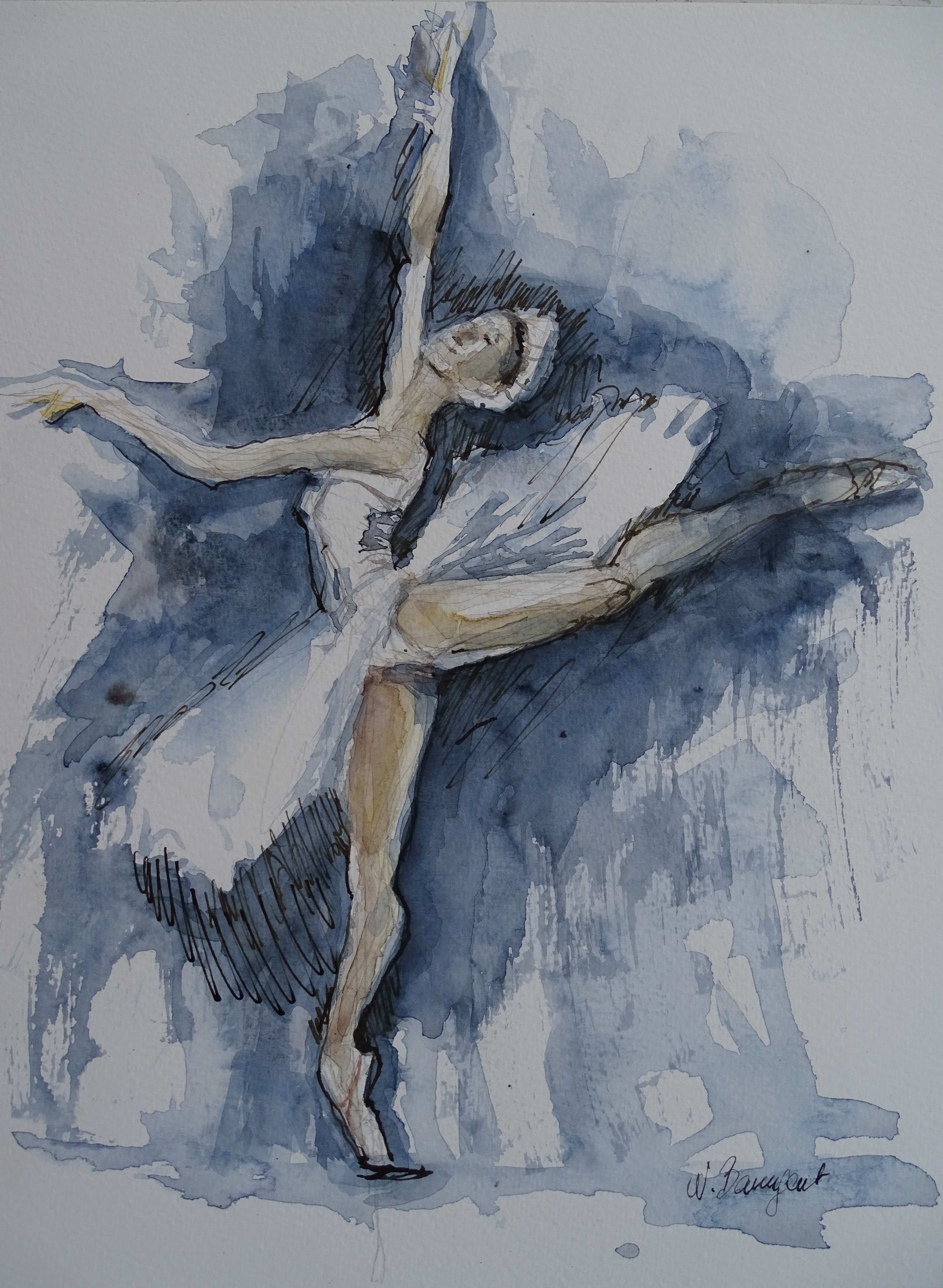 Dance-Ballett-Aquarell-Nadia-Baumgart-2
