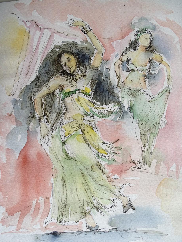 dance-tuschezeichnung-nadia-baumgart-2