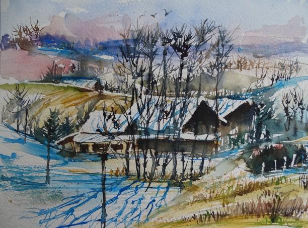 bad-birnbach-rottal-inn-aquarell-nadia-baumgart