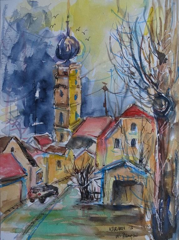 kosslarn-aquarell-niederbayern-nadia-baumgart