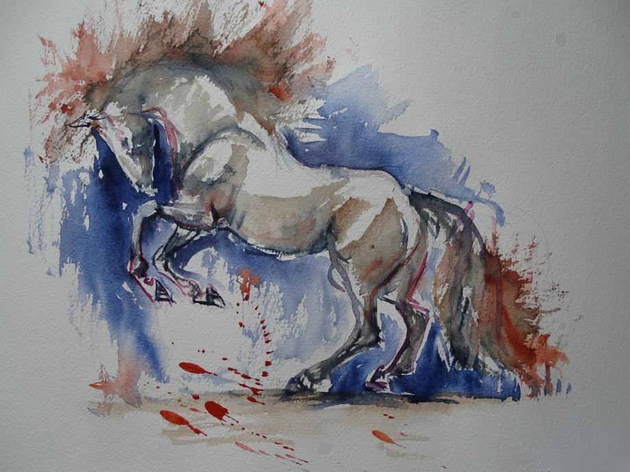 pferd-aquarell-nadia-baumgart
