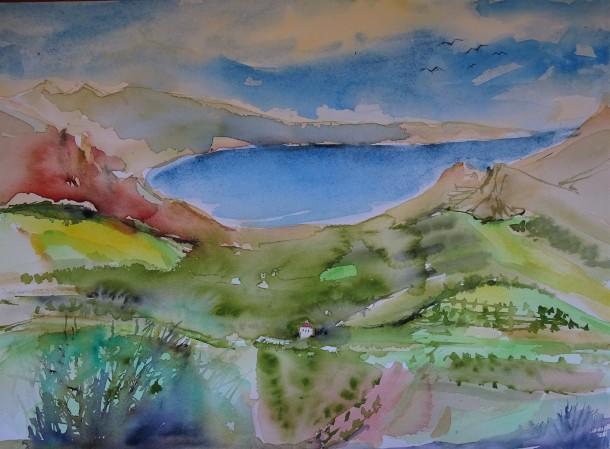 kretische-landschaft-aquarell-nadia-baumgart-3