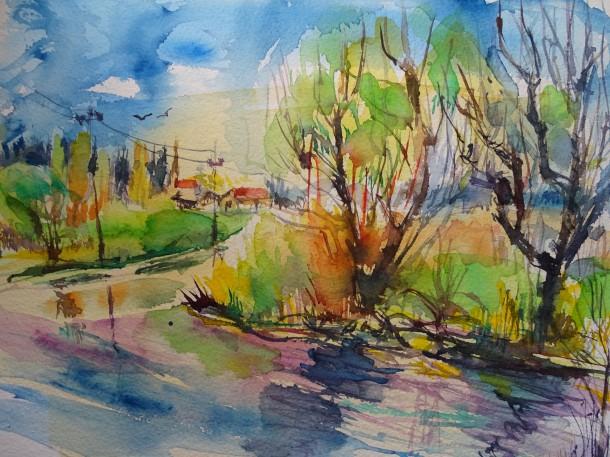 Aquarelle-Rottal-Nadia-Baumgart