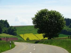 Landschaft im Rottal - Niederbayern