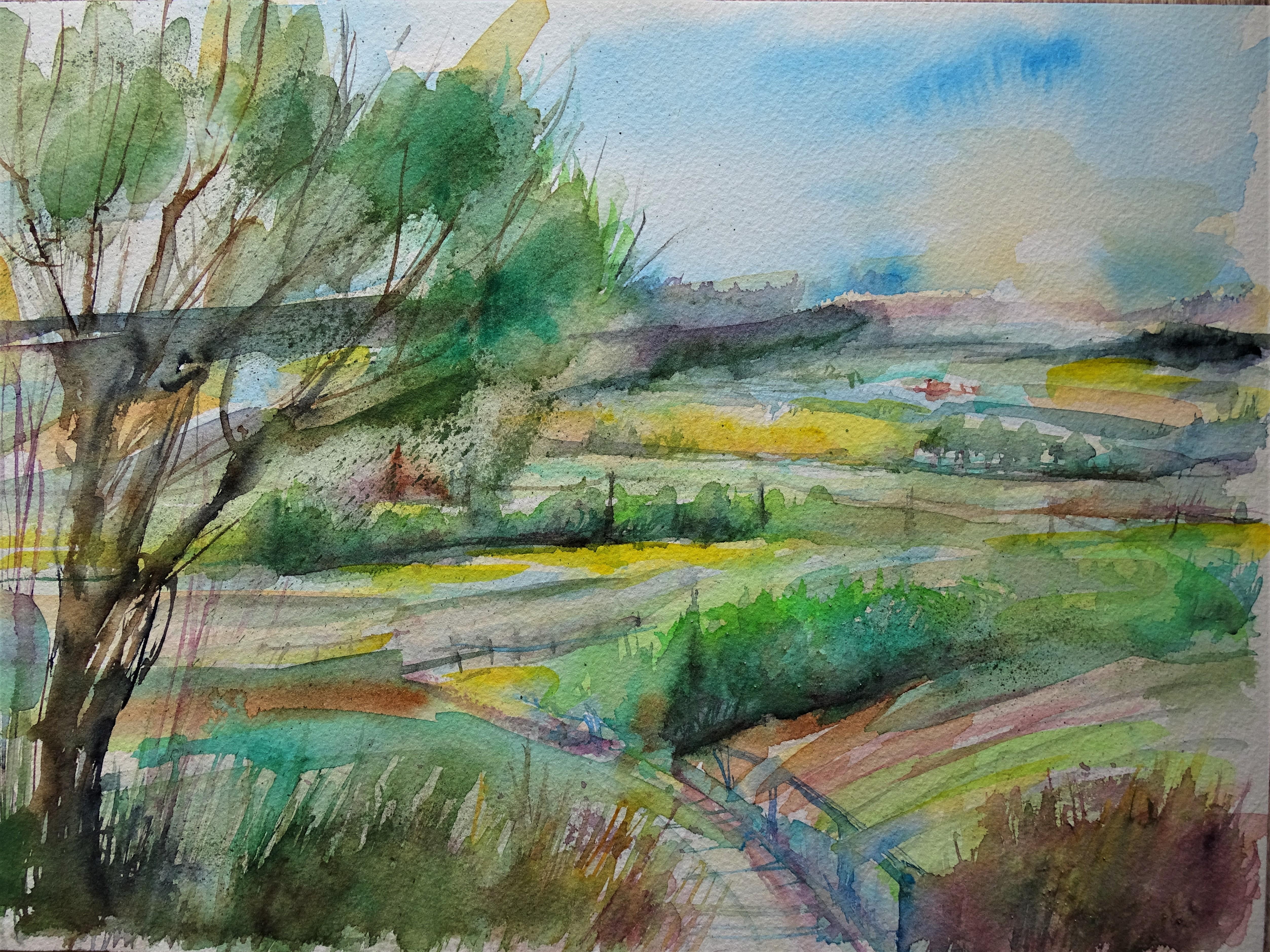 Rottal-Aquarelle-Nadia-Baumgart-Watercolour