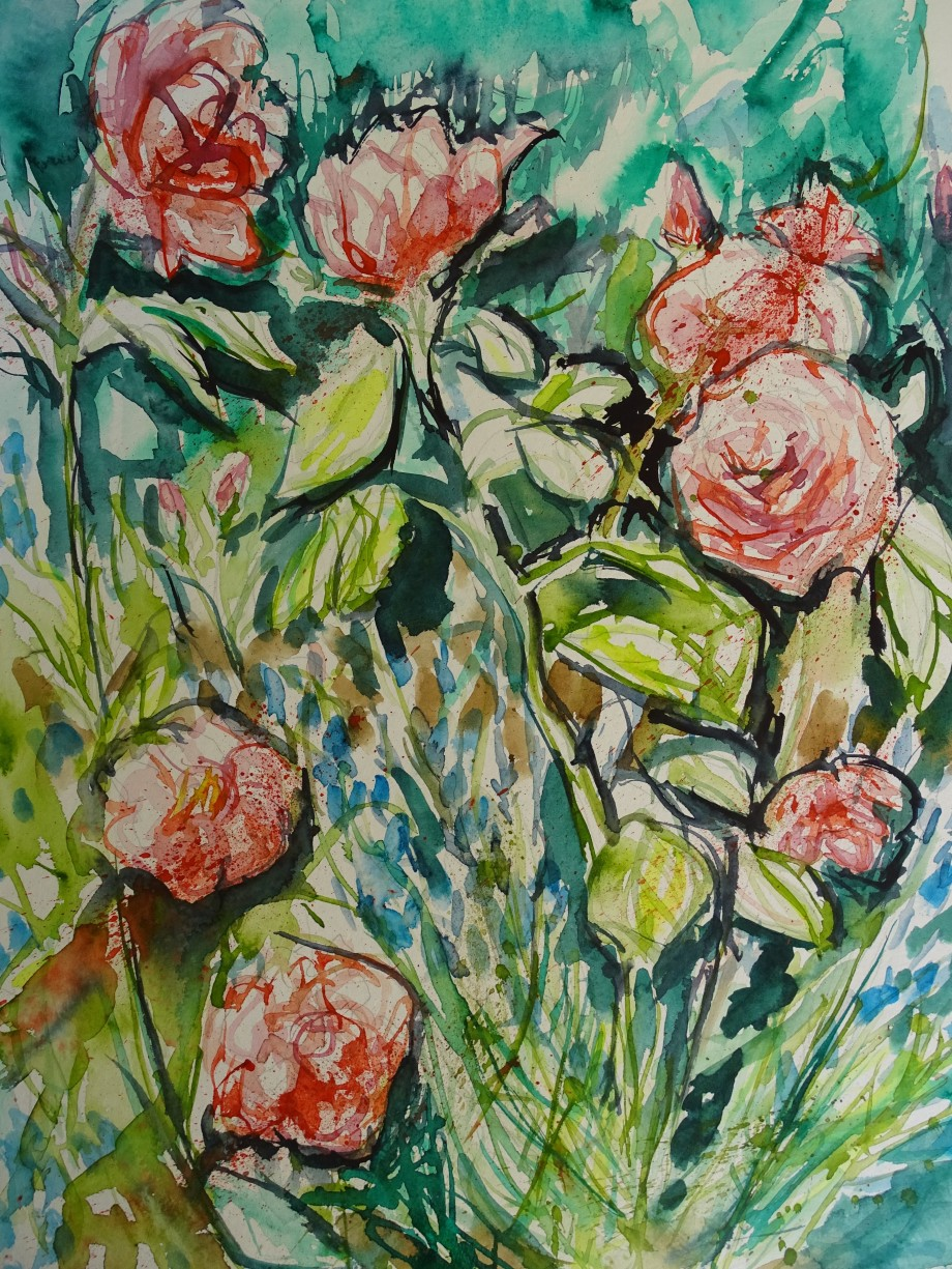 Blumen-Aquarelle-Nadia-Baumgart