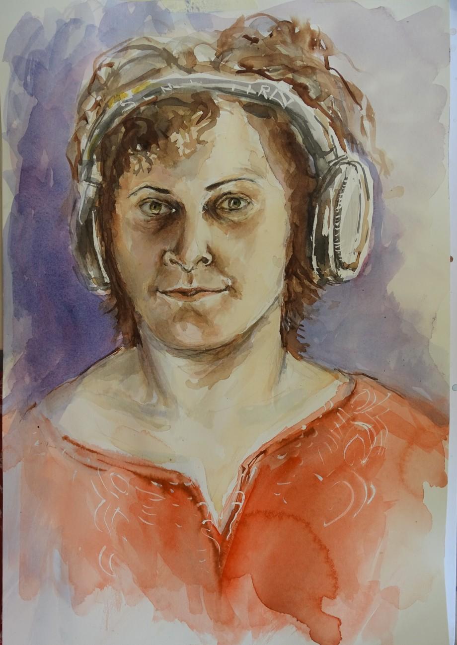 Selbstportrait-Aquarell-Nadia-Baumgart-2