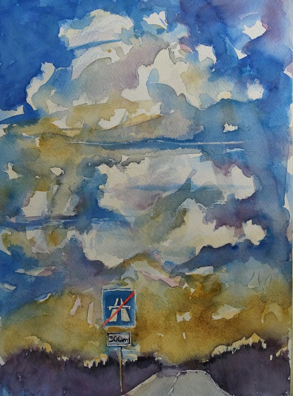 Himmel-Aquarell-Nadia-Baumgart-2