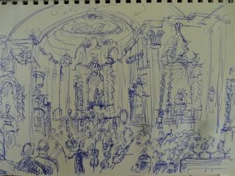 Sketch-Europäische Wochen-Aldersbach-Nadia-Baumgart