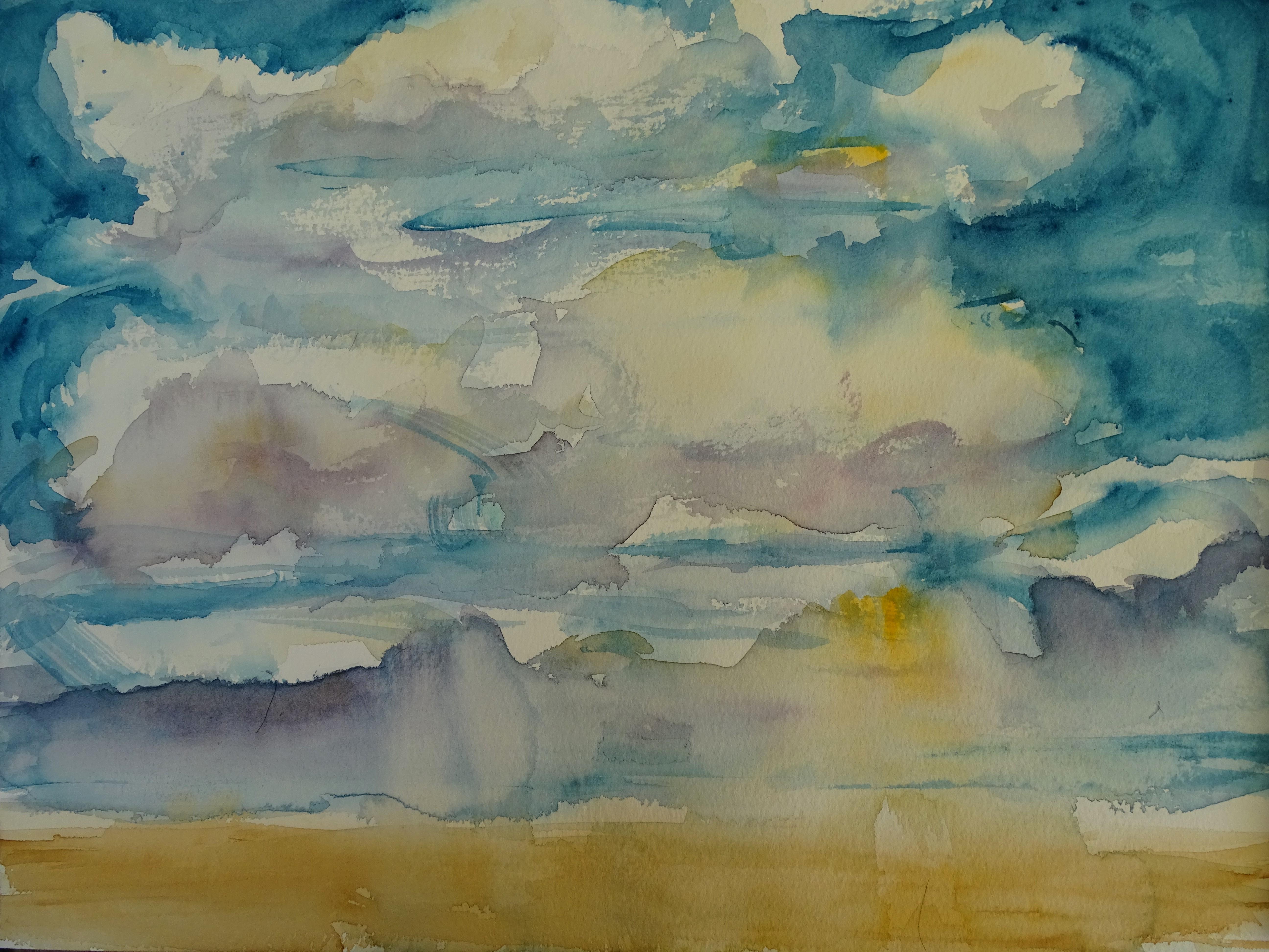 Himmel-Aquarell-Nadia-Baumgart-3