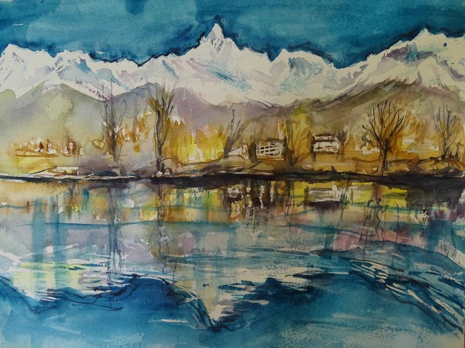 Annapurna-Aquarell-Nadia-Baumgart